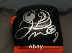 Floyd Mayweather Jr. Signed Grant Boxing Glove Auto Beckett Witnessed COA 1A