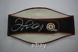 Floyd Mayweather Jr. Signed WBA Championship Boxing Belt Boxing Beckett COA