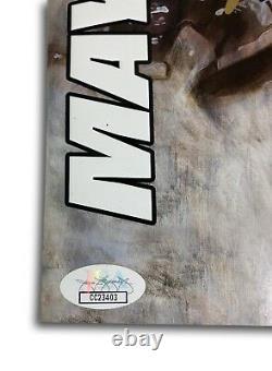 Floyd Mayweather Jr Signed vs. McGregor Official Fight Program Autograph JSA COA