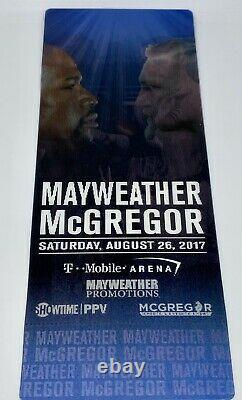 Floyd Mayweather Jr. Vs Connor McGregor Ticket Stub 3D 8/26/17