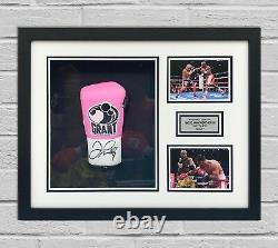 Floyd Mayweather Signed & FRAMED Boxing GLOVE TBE TMT AFTAL COA (B)