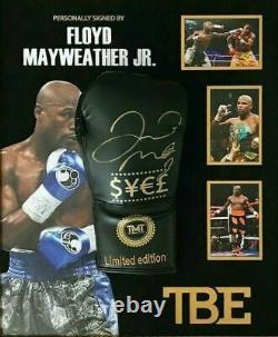 Floyd Mayweather Signed & FRAMED Boxing GLOVE TBE TMT AFTAL COA (FTOMM)