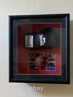 Floyd Mayweather Signed Glove Framed