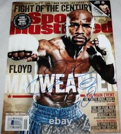 Floyd Mayweather Signed Sports Illustrated Magazine Cover- Beckett Auth