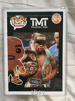 Floyd Mayweather The Money Team Boxing Custom Funko Pop with Protector