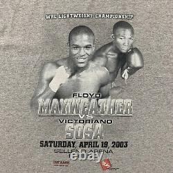 Floyd Mayweather Vintage Y2K 00s Boxing Sports T-shirt Tee