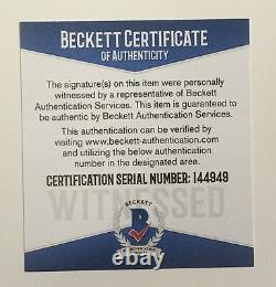 Floyd Mayweather signed 16x20 Conor Mcgregor photo framed auto Beckett BAS COA