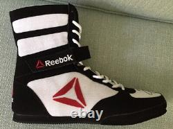 Floyd Mayweather signed Reebok boxing shoe boot Conor TMT
