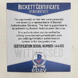 Floyd Money Mayweather signed boxing shorts trunks autograph Beckett BAS COA
