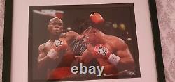 Floyd mayweather signed photo with COA