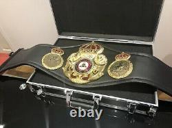 Official WBA SUPER CHAMPION-FLOYD MAYWEATHER Boxing Belt Duplicate + CASE+C. O. A