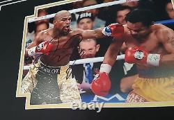 RARE FLOYD MAYWEATHER Signed Photo Picture Autograph Display