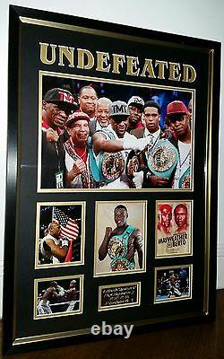 RARE FLOYD MAYWEATHER Signed Photo Picture Autographed Display