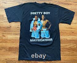 Vintage 90s Pretty Boy Floyd Mayweather Boxing Rap Tee T-Shirt XL 22.5x31.5