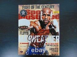 Welterweight Champion Floyd Mayweather Jr Signed 8X10 Color Photo PAAS COA