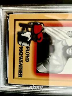 1997 Browns Boxe Floyd Mayweather Jr Rookie Card Rc #51 Ensemble Complet! Psa
