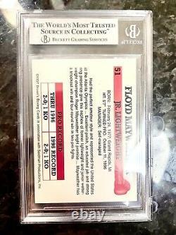 1997 Browns Boxe Floyd Mayweather Jr Rookie Card Rc #51 Et Ensemble Entier 8,5
