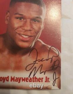 2001 Brown's Boxing Floyd Mayweather #63 Rookie Full Auto Vintage Signature