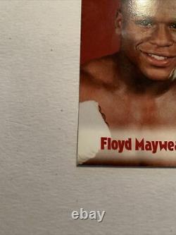 2001 Floyd Mayweather Browns Carte De Boxe #63 Ressemble À Un Grade De 10 Ou 9