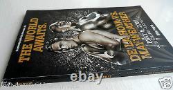 2007 Floyd Mayweather V Oscar De La Hoya Programme Signé Par Mayweather Avec Loa