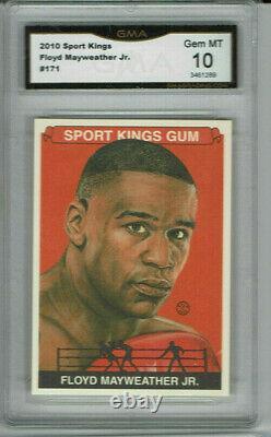 2010 Floyd Mayweather Sport Kings Gem Mint 10 Rare #171