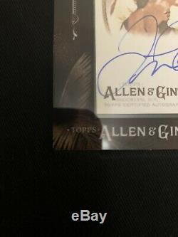2017 Allen & Ginter Topps Autograph Floyd Mayweather Carte # Ma-fm