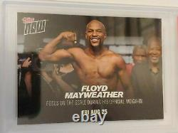 2017 Thèmes Maintenant Boxing #mm1 Floyd Mayweather Vs Conor Mcgregor Psa 10 Gem Mint