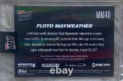 2017 Topps Maintenant Boxe Floyd Mayweather Carte Auto #1/5 Mm4d