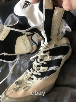 Adistar Vintage Boots De Boxe Chaussures Adidas Floyd Mayweather