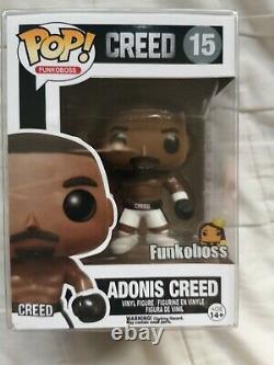 Adonis Creed Creed Funko Pop Personnalisé Avec Protecteur