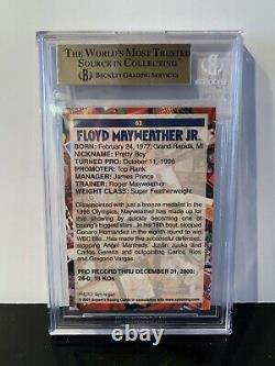 Bgs 9.5 Gem Mint2001 Browns Boxe Floyd Mayweather Jr. 13e Set #633rd Rc