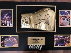 Boxe Floyd Mayweather Jr Signé Gant De Boxe Encadrée Dans Un Dôme Acrylique