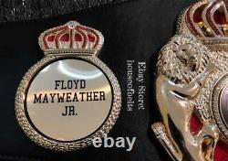 Ceinture De Boxe Super Wba Floyd Mayweather La Plus Précise Wbc, Wbo, Ibf, Wbo, Wba Ceintures