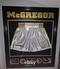Conor Mcgregor Signé Coffres De Boxe V Floyd Mayweather Ufc Mayweather Khabib