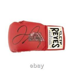 Floyd Mayweather Autographié Cleto Reyes Rouge Boxing Gant Bas Coa