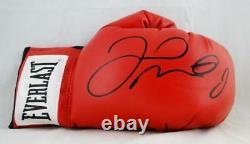 Floyd Mayweather Autographié Everlast Red Gant De Boxe Jsa CC Authentification