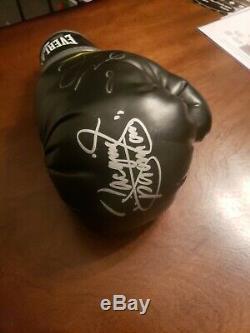 Floyd Mayweather Et Manny Pacquiao Gant D'autographes. Un Seul Sur Ebay (psa / Adn)