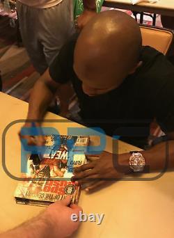 Floyd Mayweather Jr. Authentic Signé 16x20 Photo Autographiée Bas Témoin