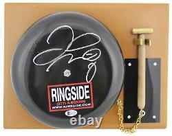 Floyd Mayweather Jr. Authentic Signé Ringside Bell Bas Témoin #j06259