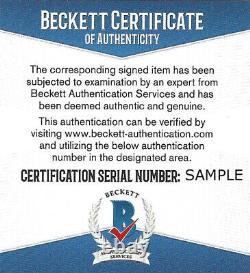 Floyd Mayweather Jr. Autographed Signé 16x20 Photo Tbe Beckett Bas 159712