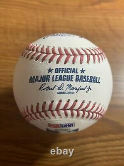 Floyd Mayweather Jr Autographié Baseball Psa/adn Authentifié
