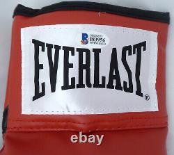 Floyd Mayweather Jr. Autographié Everlast Boxing Glove Lh Money Beckett 159651