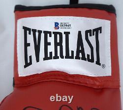 Floyd Mayweather Jr. Autographié Everlast Gant De Boxe Lh Tmt Beckett 159653