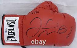 Floyd Mayweather Jr. Autographié Everlast Gant De Boxe Rh Tbe Beckett 159650