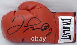 Floyd Mayweather Jr. Autographié Rouge Everlast Gant De Boxe Lh Jsa 178295