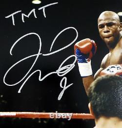 Floyd Mayweather Jr. Autographié Signé 16x20 Photo Tmt Beckett Bas 159711