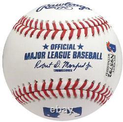 Floyd Mayweather Jr. Autographié Signé Mlb Baseball Money Beckett 159671