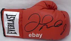 Floyd Mayweather Jr. Autographié Signé Red Everlast Boxing Gant De Boxe Rh Jsa 178296