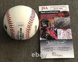 Floyd Mayweather Jr Baseball Autographié Tmt Tbe Jsa Boxing