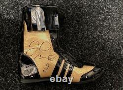 Floyd Mayweather Jr Boot De Boxe Signé À La Main